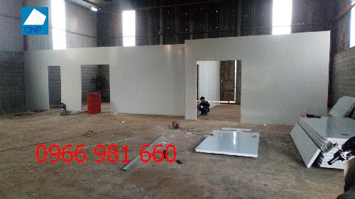 Vách ngăn panel nhà xưởng quận Hà Đông 100% về chất lượng