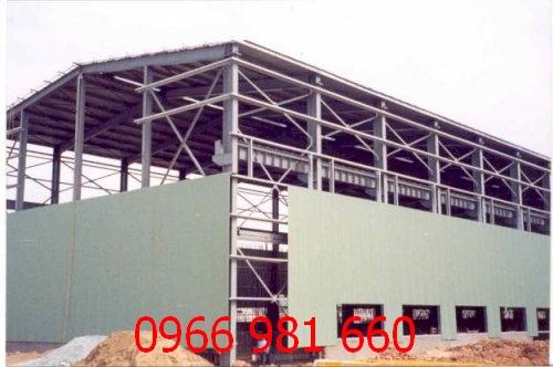 thi công vách panel nhà xưởng